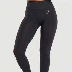 Gymshark black vital seamless leggings